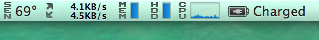 CPUの温度69℃