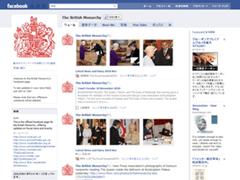 英国王室がFacebookに公式ページを開設