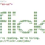 flickrがソースで求人をしている件
