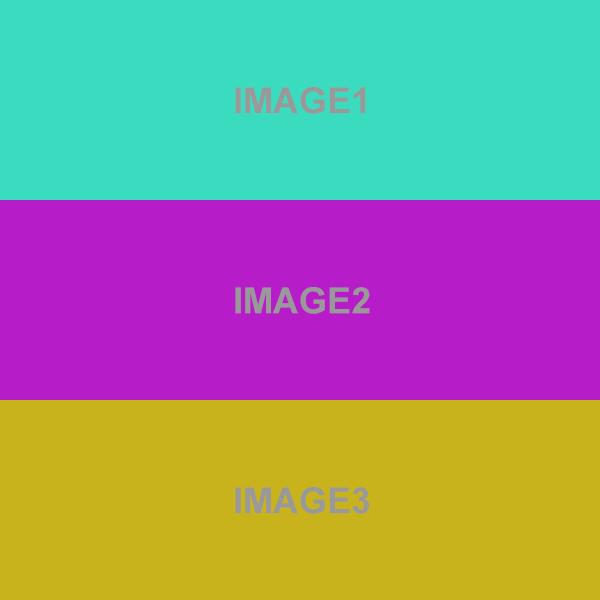 JSスライドショーの画像が一瞬縦に並んで表示される問題