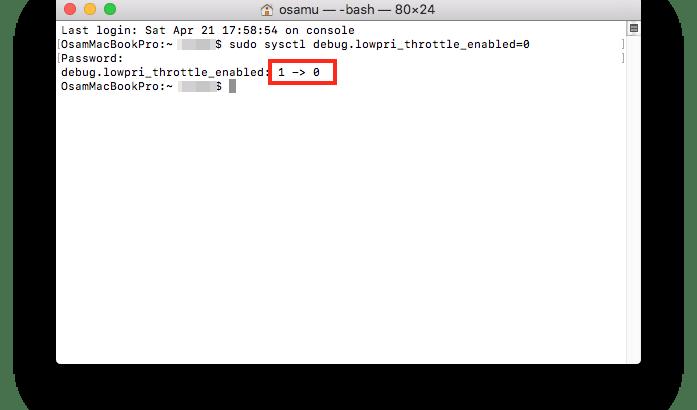 MacのTimeMachineを高速化する方法